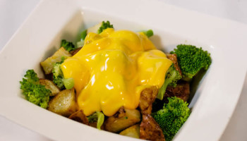 Broccoli Cheddar Potato Bowl