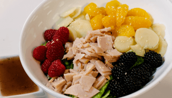 Turkey Mixed Berry Salad