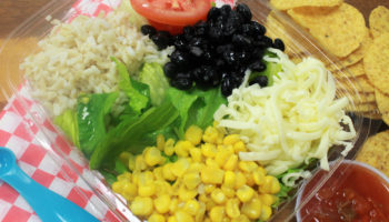 Southwest Vegetarian Taco Salad