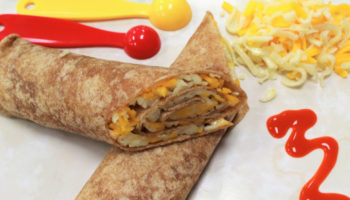 Cheese Quesadilla Roll-Up