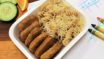 Chicken Nuggets & Parmesan Pasta