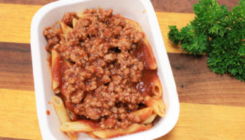 Penne Pasta with Turkey Meatsauce