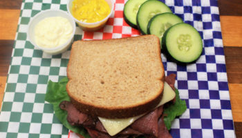 Roast Beef & Swiss Sandwich